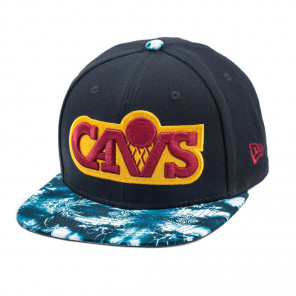 Boné New Era Snapback Original Fit Cleveland Cavaliers Print Play - NBA